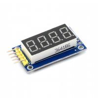 Дисплей 4-разрядный семисегментный на TM1637  для Arduino