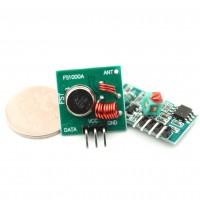 Радиопередатчик + приемник на  433 МГц  для Arduino