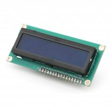 LCD-дисплей 16x2 на контроллере HD44780 (синий )