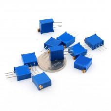 Многооборотный переменный резистор 100r-1м ( 101 - 105 )
