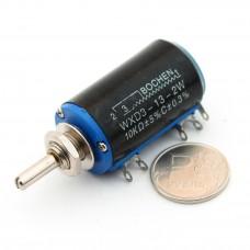 Многооборотный переменный резистор WXD3-13-2W 10 Ком