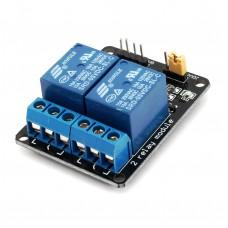 Релейный модуль на 2 канала для Arduino